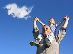Definition von Vaterschaftstest und Vaterschaftsgutachten (Abstammungstests) [© Pavel Losevsky - Fotolia.com] / Vaterschaftstst, Vaterschafttest, Vaterschafstest